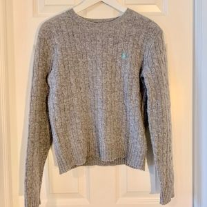 Polo Ralph Lauren Wool Cable Knit Crewneck Sweater